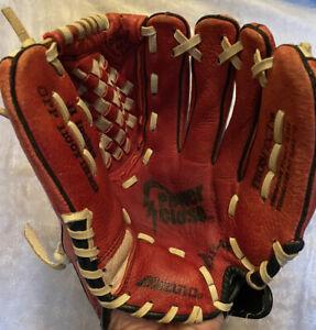 "Mizuno Prospect Power Close Max Flex 11"" Youth Baseball Glove RHT GPP 1100Y1 Red"