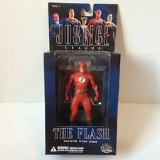 THE FLASH ALEX ROSS JUSTICE LEAGUE ACTION FIGURE DC DIRECT SERIES 1 2005