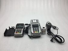 New ListingFirstData Fd130 Credit Card Terminal and Fd35 Pin Pad w/ Cables & Paper Tested