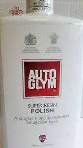 Autoglym Super Resin Car Polish 500ml Complete With