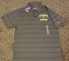 Pittsburgh Pirates adult Large (42-44) polo shirt! New with tags!