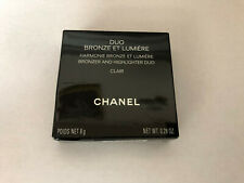 Chanel Duo Bronze Et Lumiere Bronzer and Highlighter Duo Clair 8g .28oz New