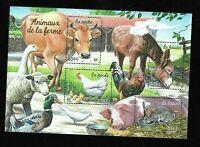 Bloc Feuillet 2004 N°69 Timbres France Neufs - Animaux de la Ferme
