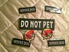 Dog Service Patches, Visual, Training, Emergency Animals, Canine, Services, Pets