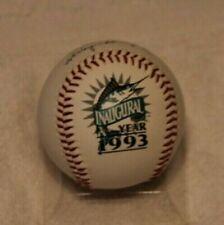 Florida Marlins Inaugural Season Baseball