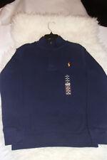 Polo Ralph Lauren Dark Blue Long Sleeve Knit Polo Rugby Shirt Size 10-12 M