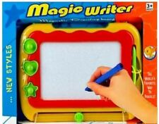 CHILDREN'S MAGIC WRITER MAGNETIC DRAWING SCRIBBLING BOARD LIKE MAGNADOODLE TOY