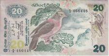 Ceylon Banknote P86-20 Rupees 1979 BIRD, V F
