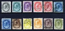 CANADA Queen Victoria 1898-02 definitive Part Set SG 150 to SG 165 VFU