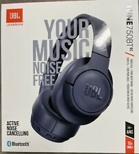 New listing Jbl Tune 750Btnc Noise-Canceling Wireless Over-Ear Headset (Br4)