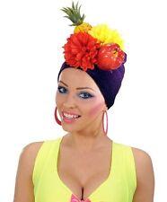 Miranda Headpiece Hat for South American Brazil Brasilian Carnival Fancy Dress a