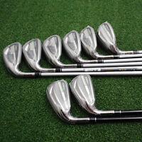 TaylorMade Golf LEFT HAND RocketBallz RBZ Max Iron 4-PW+SW Stiff NEW
