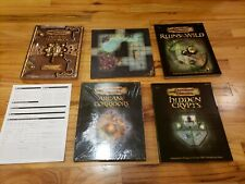 Dungeons & Dragons Basic Game w/ Rare Blue Dragon Incomplete
