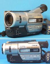 Sony dcr-tr7100e PAL DIGITAL 8, hi8, Vidéo 8 Handycam Caméscope + Garantie