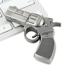 Revolver Gun Model USB2.0 Flash Pen Drive Memory U Stick Thumb Storage 4GB LE