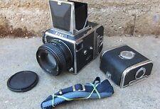 FOTOCAMERA KIEV-88 6X6 PERFETTA CON OBIETTIVO ARSAT 80MM ,2,8 DUE CARICATORI
