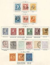 Netherlands stamps 1852 Collection of 21 CLASSIC stamps  CAT VALUE $1500