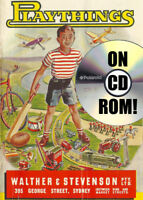 1954 WALTHER & STEVENSON PLAYTHINGS TOY CATALOG ON CD-ROM! TOP AUSSIE ARCHIVE!!