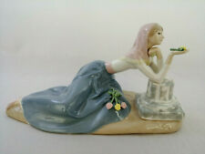 Dolores The Dahlia Maiden Figure by Fulgenico Garcia, Franklin Mint 1984
