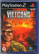 PS2 Vietcong Purple Haze (2004), UK Pal, New & Sony Factory Sealed