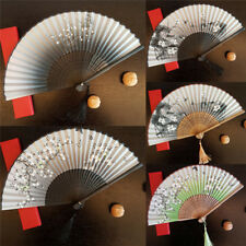 Fashion Antique Folding Female Fan Classical Mixed Decoration Home Furnishing LJ