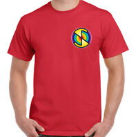 Mens Captain Scarlet T-Shirt, Spectrum Unisex Top Mysterons Thunderbirds Puppet