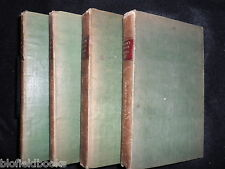 The English Flora by Sir James Edward Smith - 1824 - 4 Volume Set - Botany Ref