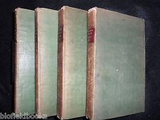 Die englische Flora von Sir James Edward Smith - 1824 - 4 Volume Set-Botanik Ref
