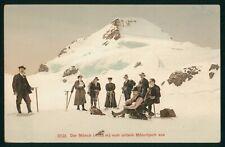 Mayfairstamps Switzerland PC Der Monch Vom Untern Monchjoch Aus Postcard wwr8219
