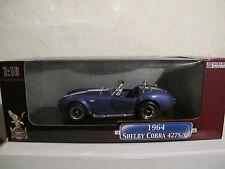 1:18 Shelby Cobra 427 S/C 1964, blau, Road Signature, NEU & OVP, RARität