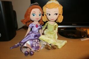 Disney's Sofia the First: Once Upon a Princess Sofia and Amber Plush