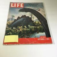 Life Magazine: Sept 7 1953 Two Billion Years Of Evolution, Dinosaurs Cover