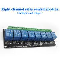 SRD-DC3V-SL-C 8 Channel DC 3v High Level Trigger Relay Module Diode Current