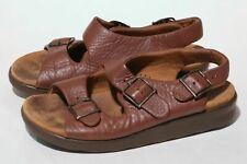 f2c4f02681b SAS RELAXED TRIPAD COMFORT BROWN LEATHER WOMEN S SANDALS