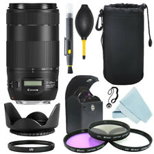 Canon EF 70-300mm f/4-5.6 IS II USM Lens + Filter Kit + Accessory Kit