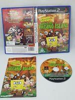 PS2 SpongeBob Battle for Volcano Island PLAYSTATION 2 FAST FREE POST