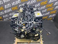 2017-2019 INFINITI Q60 RWD ENGINE ASSEMBLY 36K MILES