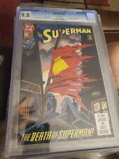 CGC 9.8 Superman #75