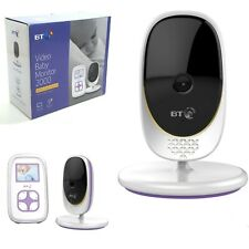 """BT Video Baby Monitor 2000 Baby Friendly Night Vision & High Quality 2"""" Screen"""