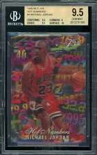 Michael Jordan Card 1995-96 Flair Hot Numbers #4 BGS 9.5 (9.5 9 9.5 10)
