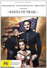SANTA FE TRAIL - ERROL FLYNN - OLIVIA DEHAVILLAND - RONALD REAGAN - DVD