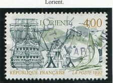 STAMP / TIMBRE FRANCE OBLITERE N° 2765 LORIENT / BATEAU / NAVIRE