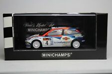 FORD FOCUS RS WRC RALLY ARGENTINA 2002 MINICHAMPS 430028904 #4 1:43