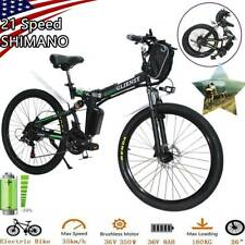 "CLIENSY 26"" Electric Folding Bike City Mountain Cycling EBike 350W 36V 8AH US."