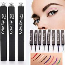 8 Colors Eyeliner Matt Liquide Cosmétique Outil Yeux Waterproof Maquillage Liner