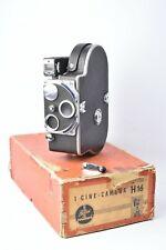 Camera Cinema Paillard Bolex H16. Camera Nue. with Box Original