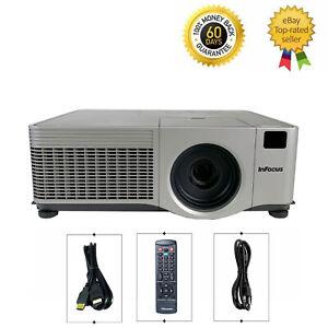 InFocus IN5104 3LCD Projector 4000 lumens HD 1080p HDMI w/Remote bundle