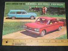 1961 Chevrolet Corvair Catalog Sales Brochure