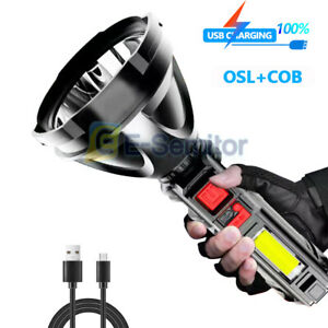 Super Bright 990000LM Torch Led Flashlight USB Rechargeable Tactical light 18650