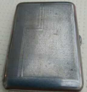 Silver Plated Small Cigarette Holder